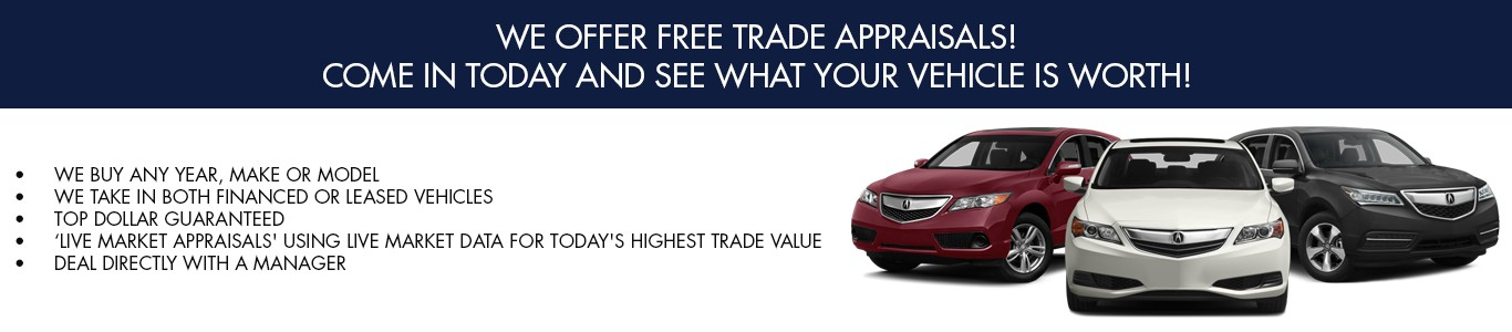 We offer Free Trade Appraisals
