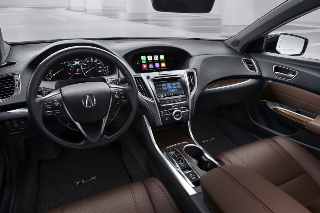 2018 Acura TLX V6 w/ Advance Package, Espresso Interior