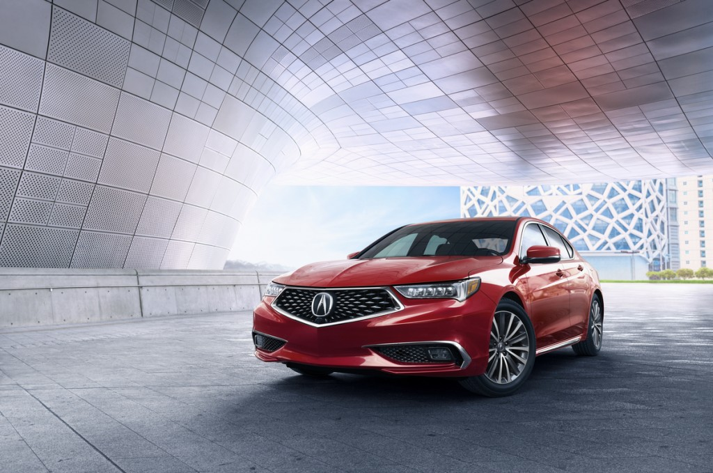 2018 Acura TLX V6 w/ Advance Package, San Marino Red