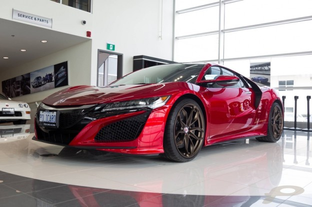 The Acura NSX Then And Now Policaro Acura - Acura nsx parts