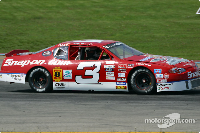 Rob's father Bill Rowse Jr. in  the Canadian Nascar Series at Autodrome St-Eustache in 2002.