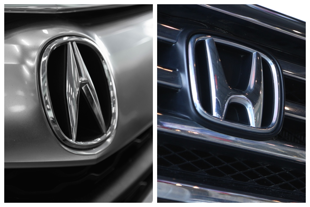 How are Honda and Acura related?