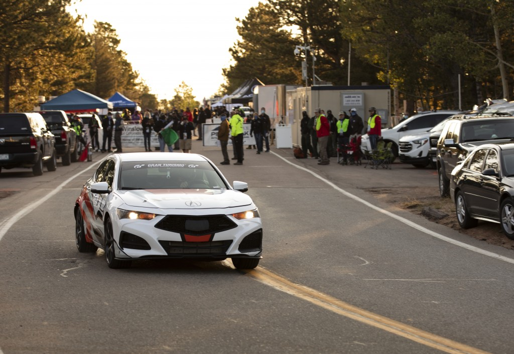 Acura Podiums at Pikes Peak for 6th Consecutive Year