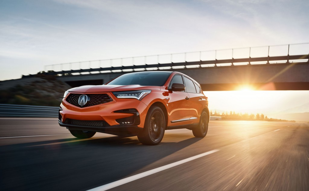 2021 RDX PMC Edition in Thermal Orange Pearl