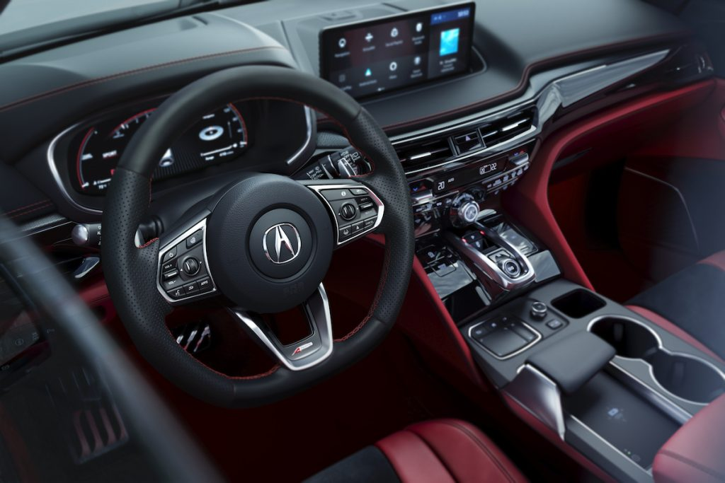 2022 Acura MDX A-Spec Interior