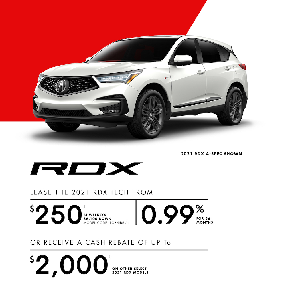 Acura Sales Offer RDX