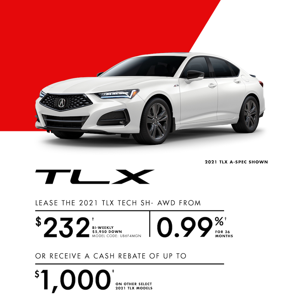 Acura Sales Offer TLX